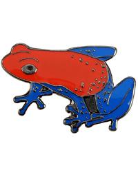 Picture of Blue Bug Pin Badge Pumilio
