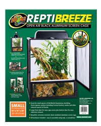 Picture of Zoo Med ReptiBreeze Screen Cage 40 x 40 x 50 cm