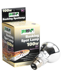 Picture of ProRep Basking Spot Lamp 100W Bayonet