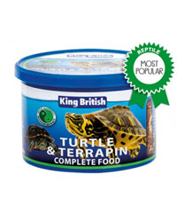 Picture of King British Turtle Terrapin Food 200g