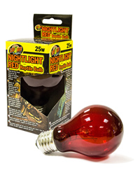 Picture of Zoo Med Nightlight Red Reptile Bulb 25W ES