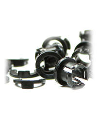 Picture of MistKing Quarter Inch Collets and Locks Pack of 10