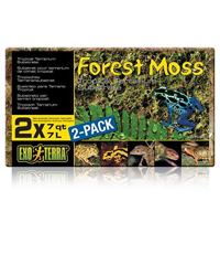 Picture of Exo Terra Forest Moss 2 x 7 Litre Pack