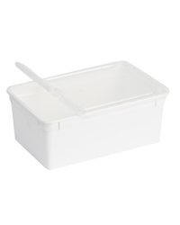 Picture of BraPlast Box with Lid White 1.3 Litres