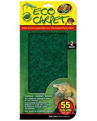 Picture of Zoo Med Eco Carpet 55 Gallon 33 x 122 cm - 2 Pack