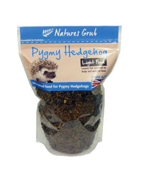 Picture of Natures Grub Pygmy Hedgehog Complete Light 600g