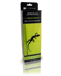 Picture of White Python LED Jungle Green 4ft Kit