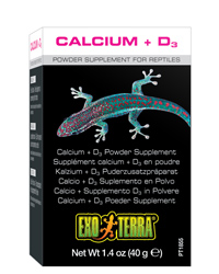 Picture of Exo Terra Reptile Calcium plus D3 40g