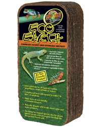 Picture of Zoo Med Eco Earth Substrate Brick 7 - 8 Litres
