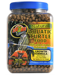Picture of Zoo Med Aquatic Turtle Food Growth 212g