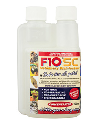 Picture of F10 Super Concentrate Veterinary Disinfectant 200ml