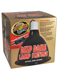 Picture of Zoo Med Deep Dome Lamp Fixture