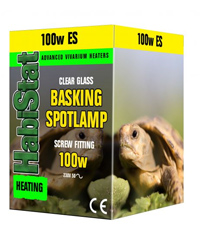 Picture of HabiStat Basking Spotlamp 100W Screw