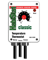 Picture of HabiStat Temperature Thermostat 300W White