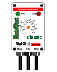 Picture of HabiStat Mat-Stat Thermostat 100W White