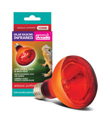 Picture of Arcadia Solar Basking Infrared Lamp 150W