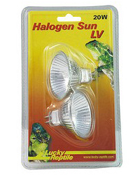 Picture of Lucky Reptile Halogen Sun LV 2 x 20W