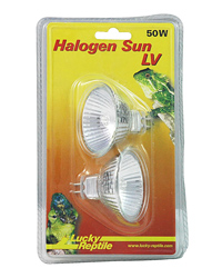 Picture of Lucky Reptile Halogen Sun LV 2 x 50W