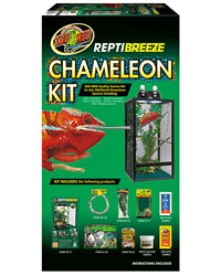 Picture of Zoo Med ReptiBreeze Chameleon Kit