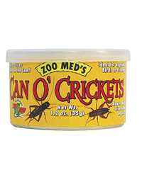 Picture of Zoo Med Can O' Crickets  35g