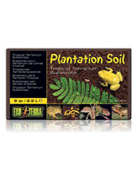 Picture of Exo Terra Plantation Soil Substrate 8.8 Litre Brick