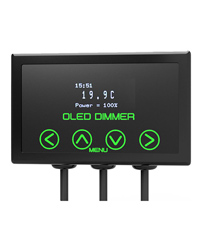Microclimate Oled Dimmer Black 600w Thermostats