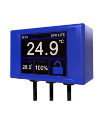 Picture of Microclimate Evo Lite Digital Thermostat Blue