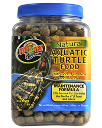 Picture of Zoo Med Aquatic Turtle Food Maintenance 184g