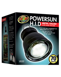 Picture of Zoo Med Powersun HID Metal Halide Fixture 70W 70W