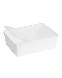 Picture of BraPlast Box with Lid White 3.0 Litres