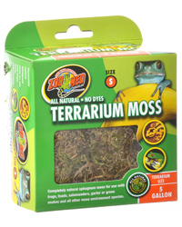Picture of Zoo Med Terrarium Moss Small 1.3 Litres