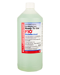 Picture of F10 Ready to Use Disinfectant 1 Litre Refill