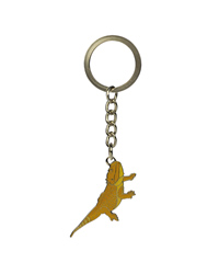 Picture of Blue Bug Metal Keyring Bearded Dragon