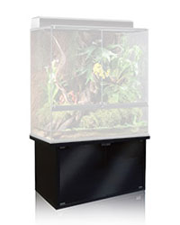 Picture of Exo Terra Terrarium Cabinet Low Black