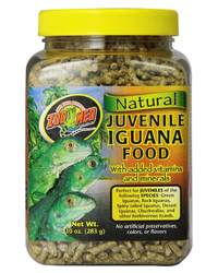Picture of Zoo Med Iguana Food Juvenile 283g