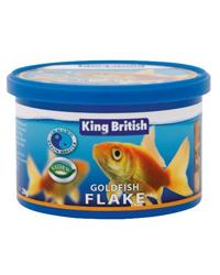 Picture of King British Goldfish Flake 28g