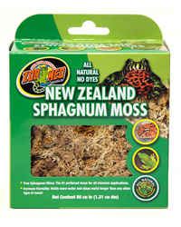 Picture of Zoo Med New Zealand Sphagnum Moss 1.3 Litre