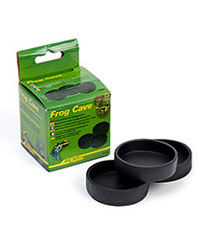 Picture of Lucky Reptile Frog Cave Replacement Dishes 3 Pack