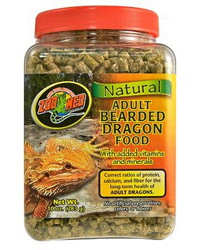 Picture of Zoo Med Bearded Dragon Food Adult 283g