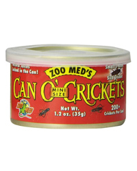 Picture of Zoo Med Can O' Mini Crickets 35g