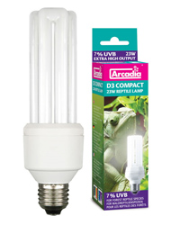 Picture of Arcadia D3 Compact Reptile Lamp 23W
